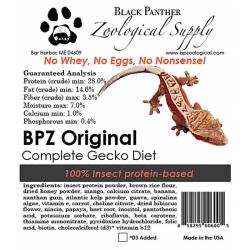 BPZ Original Gecko Diet / Food